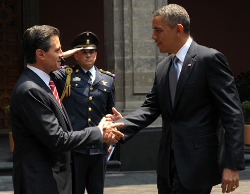 Obama and EPN 510x340