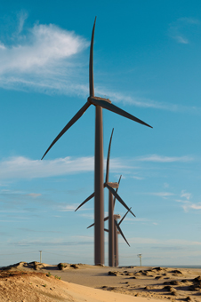Impossible dream? Brazil's wind power faces roadblocks. Photo: Miguel Caibarien/Corbis.