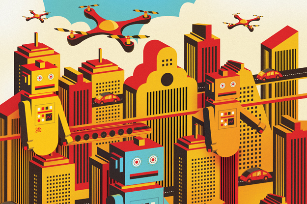 Robots, technology, Latin America
