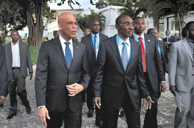 Michel Martelly, Haiti, Evans Paul