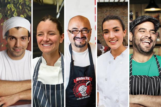 Top 5 Chefs