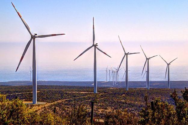 Wind farm in Chile