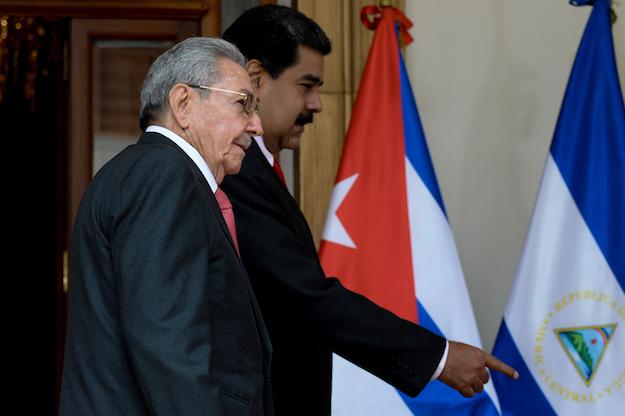 Maduro and Castro